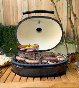 graduate to the next level in cooking and grilling and break away from everyday tastes and the routineness of cooking on an ordinary metal grill or indoor - Primo Grills